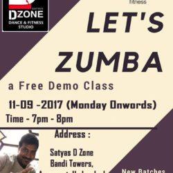 Zumba Classes – September