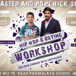 Hip Hop and B – Boying Workshop Diploma Courses with Certficate